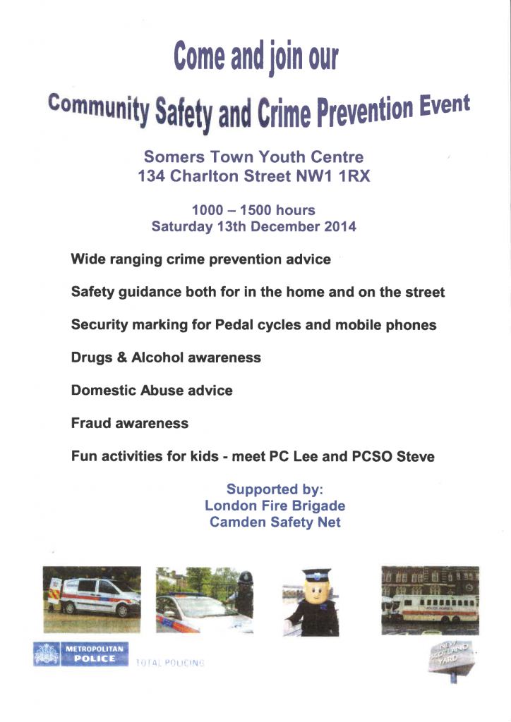 somers town safety day